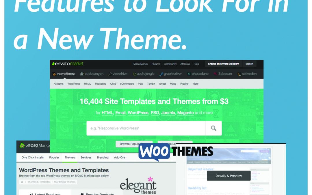 8 WordPress Theme Features to Search For